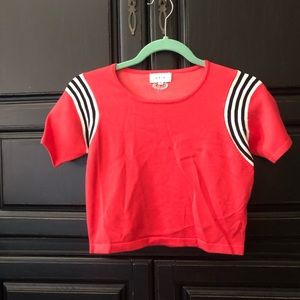 UNIF Cropped Tee Size M